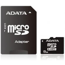 Mälukaart ADATA mälu card microSDHC 8GB CL4...