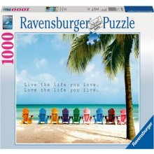 RAVENSBURGER RAVEN. 1000 EL. Live The Life...