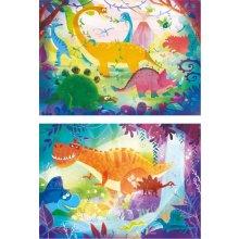 CLEMENTONI Puzzle 2 x 20 pcs Super Color -...