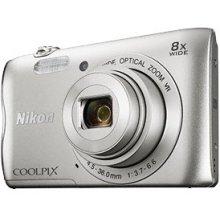 Fotokaamera NIKON COOLPIX A300 hõbedane...