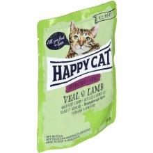 Happy Cat Adult Sterilised Veal & Lamb 85 g