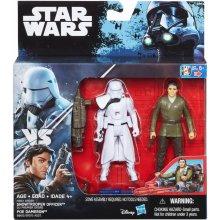 HASBRO SW Snowtrooper Officer ja Poe Dameron
