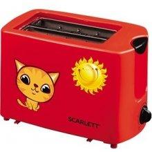 Scarlett Toaster SC - TM11010 Red, Plastic...