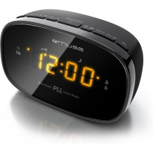Muse Clock radio PLL M-150CR чёрный, Alarm...