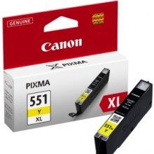 Tooner Canon CLI-551XL Y tint kollane