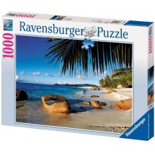 RAVENSBURGER 1000 COMPONENTS Under the Palm...