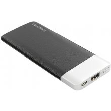 Qoltec Power bank 6000mAh Li-poly, black