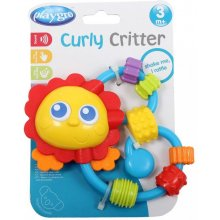 PLAYGRO Rattle/teether Curved Lion
