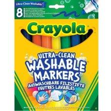 CRAYOLA Super washable markers 8 pcs