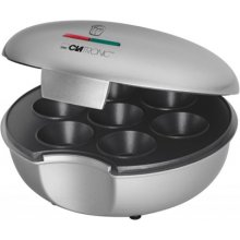 Clatronic MM 3496 Muffinmaker hõbedane