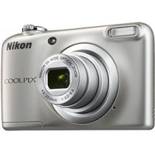 Fotokaamera NIKON COOLPIX A10 hõbedane
