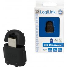 LogiLink - USB OTG Adapter, black