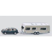 SIKU A car koos a caravan