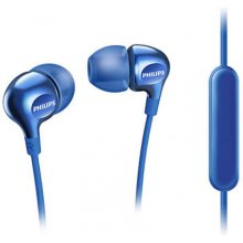 Philips SHE3705BL/00 In-ear, микрофон, Blue