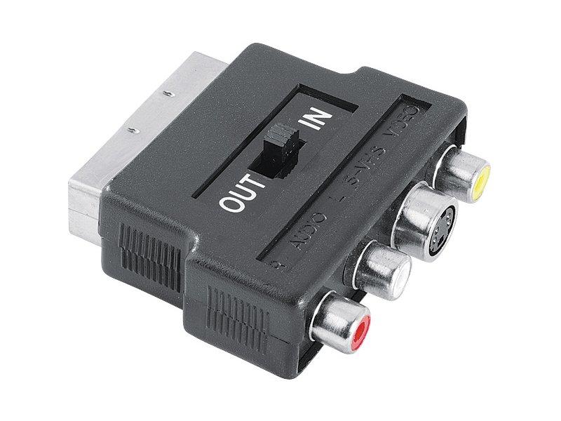 e040dfb1910 Hama adapter Scart-3RCA/SVide 00042357 - OX.ee
