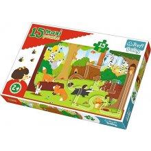 TREFL Puzzle Baby 15 pcs MAXI - Forest...