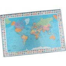 Hamelin Lauamatt Bantex maailma kaart 44x63