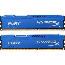 Mälu HyperX DDR3 Fury 16GB/ 1600 (2*8GB)...