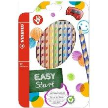 Stabilo Värvipliiats 12 värvi Easy colors...