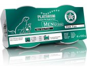 Platinum Menu Mini Pure Fish 4 x 100g