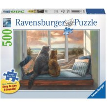 RAVENSBURGER 500 ELEMENTS buddies cat in the...
