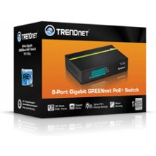 TRENDNET 8-PORT GREENNET GIGABIT POE