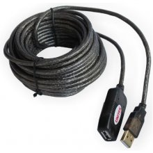 Unitek kaabel USB 2.0 Active Extension, 10m...