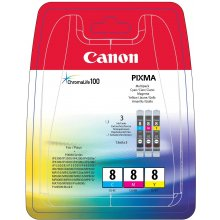 Tooner Canon CLI-8 C/M/Y Multi Pack
