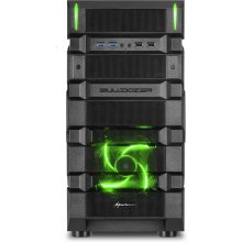 Korpus Sharkoon BD28 MIDI ATX TOWER roheline
