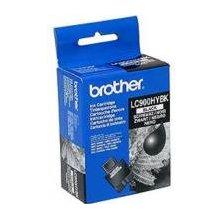 Тонер BROTHER LC-900HYBK, чёрный, Inkjet