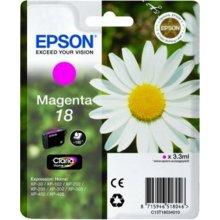 Тонер Epson чернила T1803 magenta | 3,3 ml |...