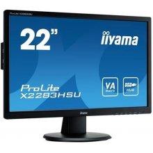 "Monitor IIYAMA 54.6cm (21,5"") X2283HSU-B1DP..."