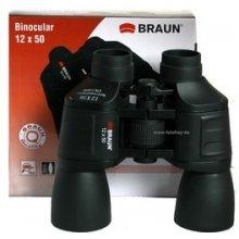 Braun Phototechnik Binocular pruun 12x50