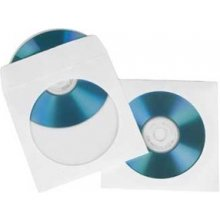 Диски Hama 1x100 CD/DVD Paper Sleeves белый...