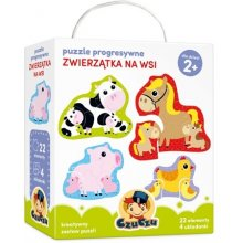 Czuczu Progressive puzzles - Animals in...