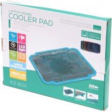 OMEGA sülearvuti jahutusalus Ice Box, sinine