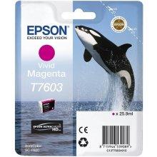 Тонер Epson T7603 чернила Cartridge, Magenta