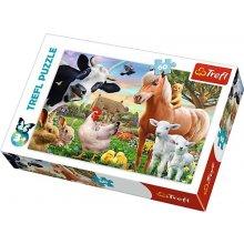 TREFL Puzzle 60 pcs - Happy Farm