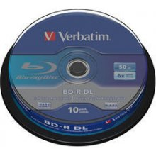 Диски Verbatim BluRay BD-R DUAL LAYER [...