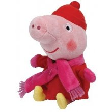 606b15e49b6 Meteor Plush toy TY Beanie Babies Peppa Pig Winter 15 cm 46206 - 01.ee