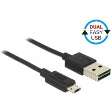 Delock кабель Micro USB AM-BM DUAL EASY-USB...