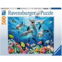 RAVENSBURGER RAVEN. 500 EL. Delfiny