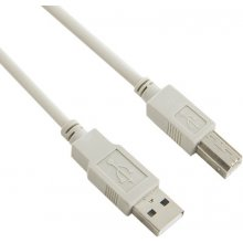4World Cable USB 2.0 type A-B M/M 5m чёрный