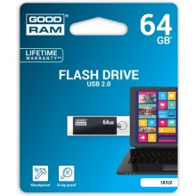 Флешка GOODRAM CUBE 64GB USB2.0 чёрный
