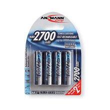Ansmann 1x2 rech. aku 2700 Mignon AA 2500...