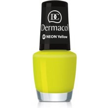 Dermacol Neon Polish 02 oranž, Cosmetic 5ml...