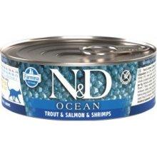 Farmina N&D OCEAN Cat Adult - trout, salmon...