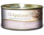 Applaws konserv Senior Jelly Tuna & Mussels...