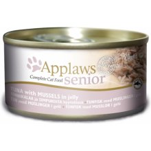 Applaws konserv Senior Jelly Tuna & Mussels...
