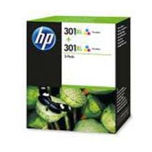 Тонер HP INC. HP 301XL 2-pack Tri-color...